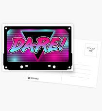 TF 80s - Dare Postcards