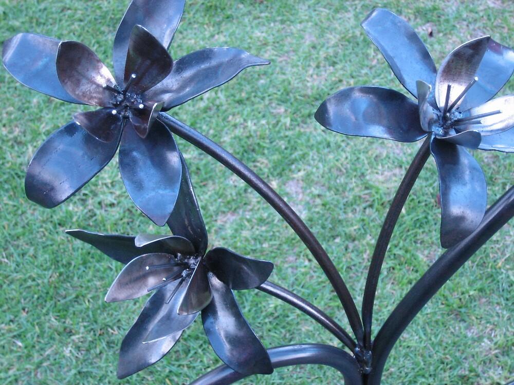 flowers by sculpturedsteel