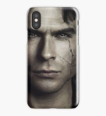 Damon Salvatore - The Vampire Diaries - Season 8 - Promotional Poster  iPhone Case/Skin