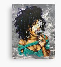 Naturally L Canvas Print
