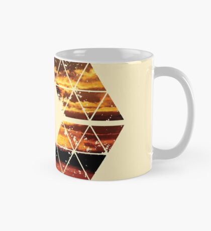 Nature and Geometry - Sunset Sky Mug