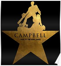 Hail To The King, Baby! Hamilton Parody Poster