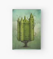 tree house  nature fairy Hardcover Journal