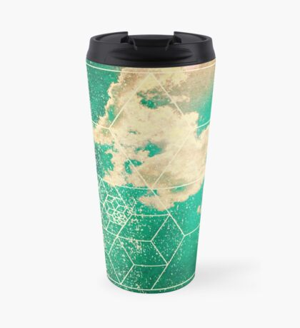 Nature and Geometry - The Clouds 2 Travel Mug