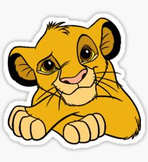 Simba the Lion King Sticker