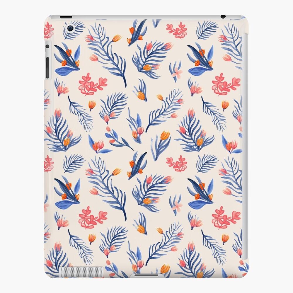 Succulent garden pattern on cream iPad Case & Skin