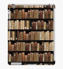The medieval manuscripts bookshelf iPad Case/Skin