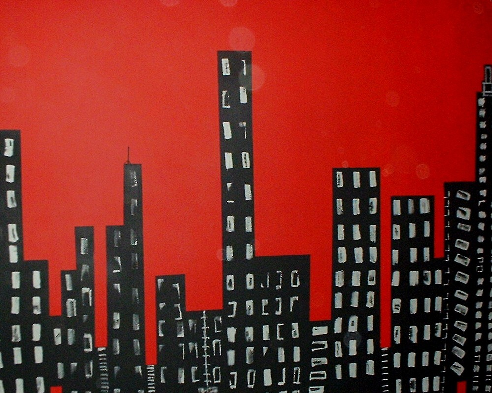 City at Night (in my room) by Jayson Brazell