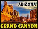 GRAND CANYON ARIZONA NATIONAL PARK VINTAGE TRAVEL by MyHandmadeSigns