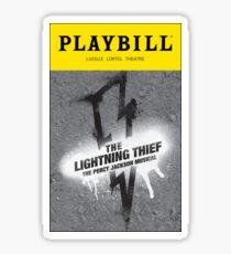 The Lightning Thief Musical Sticker