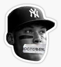 New York Yankees Aaron Judge October Sticker