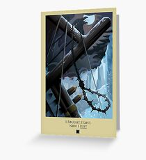 Game of Thrones Poster – Now I Rest Greeting Card