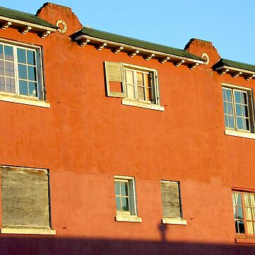Astoria building 3 Red at sunset by robcork