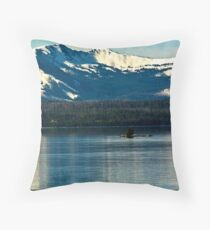 ~ Lonely Island of the Mountains ~ Throw Pillow