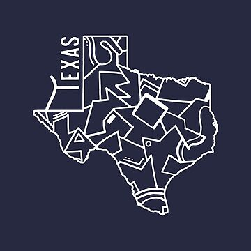 Texas Strong (Dark Blue) by whiskeyandwater