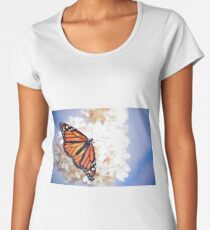 Monarch in Repose Women's Premium T-Shirt