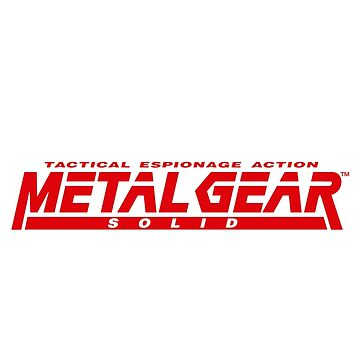metal gear solid logo by tylafoutz