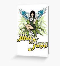 Mary Jane #2 Greeting Card