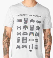 Choose Your Weapon Men's Premium T-Shirt