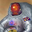 Portrait of an astronaut by Pete Janes