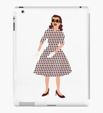 Steam Punk 50s-60s Dot Style iPad Case/Skin