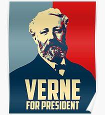 Verne for President! Poster