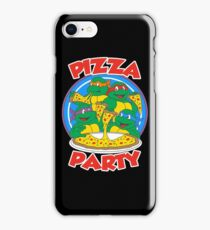 Pizza Party T-Shirt iPhone Case/Skin