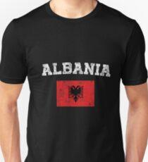 1c32c0012 Albanian Flag Shirt - Vintage Albania T-Shirt Unisex T-Shirt