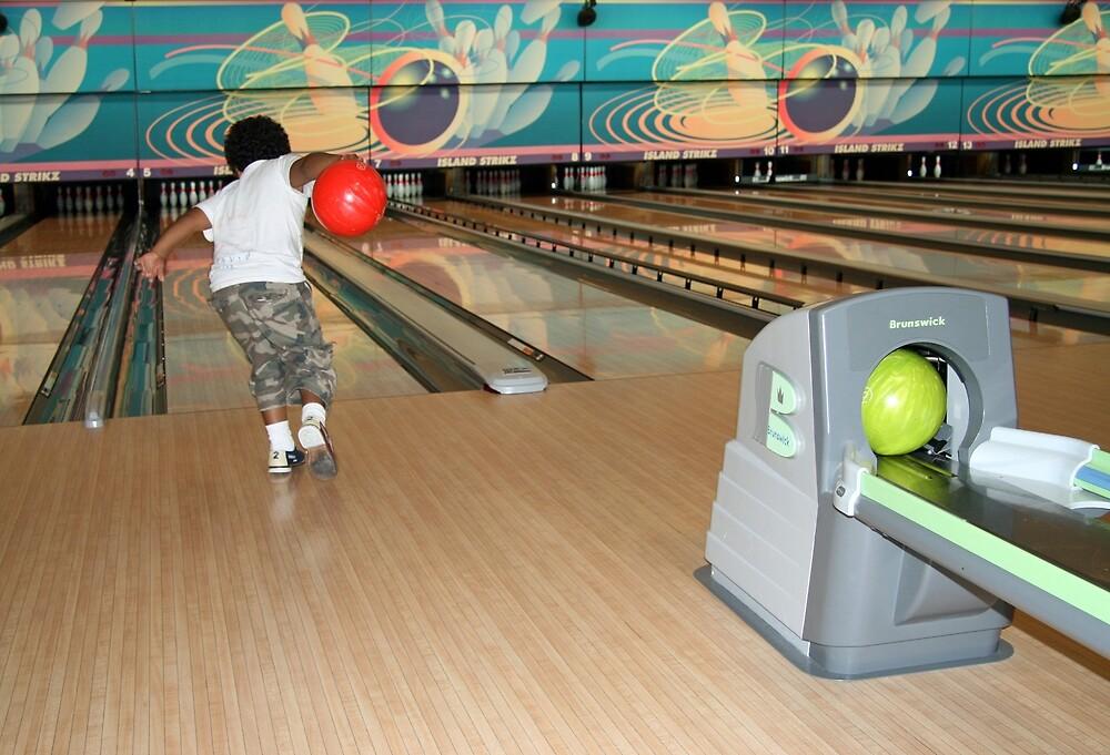 Bowling by Cora Wandel