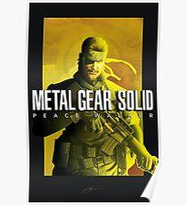 "Metal Gear Solid Peace Walker ""Big Boss"" Poster Poster"