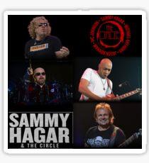 SAMMY HAGAR TOUR LILIS Sticker