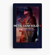 """Metal Gear Solid V: Ground Zeroes """"Infiltration"""" Poster Canvas Print"""