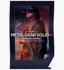 "Metal Gear Solid V: Ground Zeroes ""Infiltration"" Poster Poster"