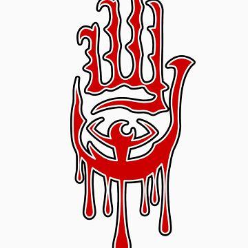 Bleed Hand by Raston