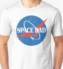 Space Dad - NASA Logo Unisex T-Shirt