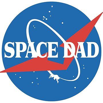 Space Dad - NASA Logo by toxzen