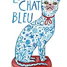 Le Chat Bleu by Susan Mitchell