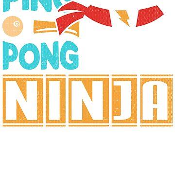 Ping Pong Ninja by Soulfire86