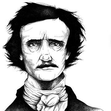 Edgar Allan Poe by neographics
