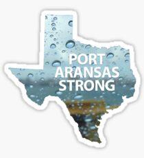 Port Aransas Strong Sticker