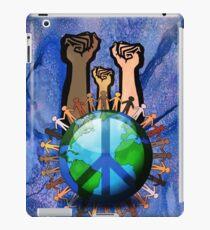 Unity And Peace - Raised Fists! iPad Case/Skin