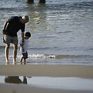 Father and son by Moshe Cohen