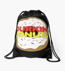 Durkin Donuts Drawstring Bag