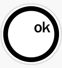 ok Computer - Radiohead Sticker