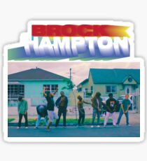 BROCKHAMPTON HEAT  Sticker