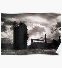 Landscape for Orson Wells # 3: Stack Poster