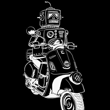 Robots love Vespa! by maxsax