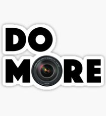 Do More (With Lense) Sticker