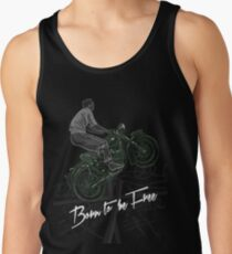 Born to be free Tank Top
