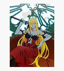 Kizumonogatari: Kiss-shot Acerola-orion Heart-under-blade Photographic Print